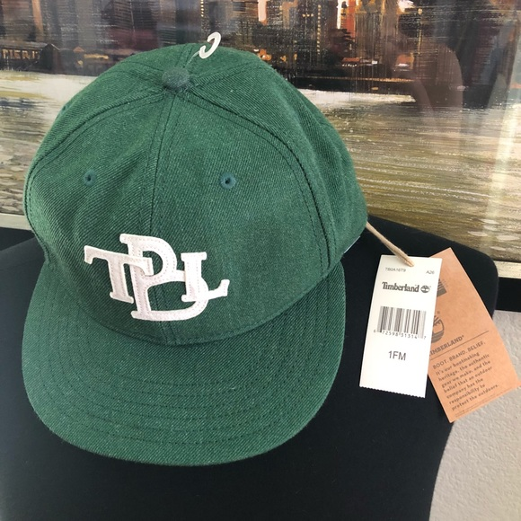 Timberland Green SnapBack Hat 0187eccf3516